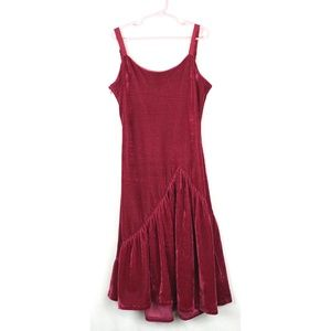 "Joyfolie Miajoy Velvet ""Olive"" Dress sz 10"